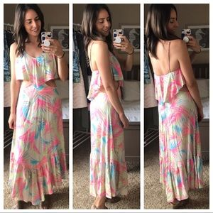 RARE Farm Rio maxi dress